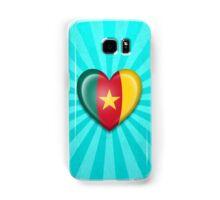 Cameroon Heart Flag Samsung Galaxy Case/Skin