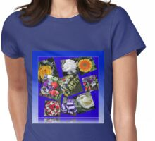 Floral Tributes to a Valiant Man Womens Fitted T-Shirt