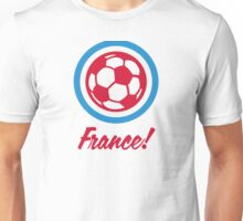 Football coat of arms of France Unisex T-Shirt