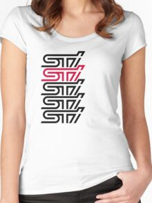 sti Women's Fitted Scoop T-Shirt