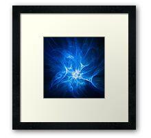 Blue Nova Framed Print