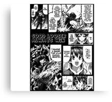 Kumagawa : Good Looser Always ''Win'' Canvas Print