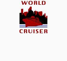 Being A World Cruiser Womens Fitted T-Shirt