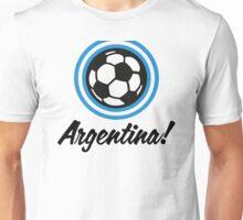 Football crest of Argentina Unisex T-Shirt