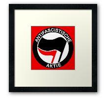 Antifaschistische Aktie Framed Print