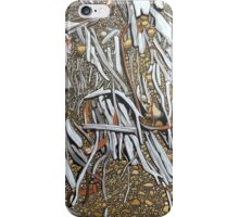Landscape Calligraphy, Frankland Beaches, Lake St. Clair iPhone Case/Skin