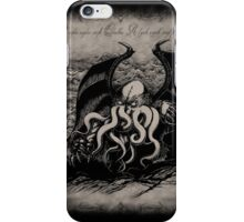 Cthulhu - Rise Great Old One iPhone Case/Skin