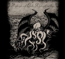 Cthulhu - Rise Great Old One by pigboom