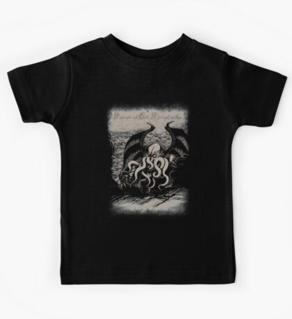 Cthulhu - Rise Great Old One Kids Tee