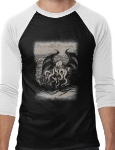 Cthulhu - Rise Great Old One Men's Baseball ¾ T-Shirt