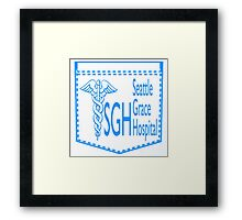 Scrub Pocket  Framed Print