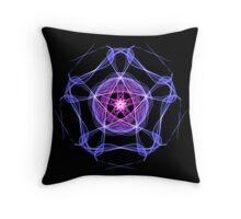 Energetic Geometry – Healing Star Flower of Harmonic Resonance -.. Throw Pillow