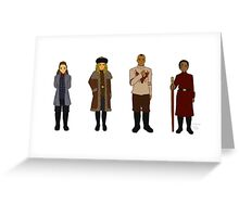 Durmstrang Grounders Greeting Card