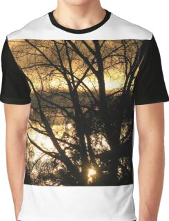 Sunset after the Rain Graphic T-Shirt