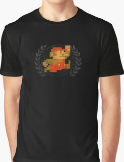 Super Mario - Sprite Badge Graphic T-Shirt