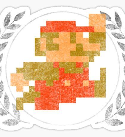 Super Mario - Sprite Badge Sticker