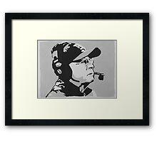 Tom Coughlin Portrait Framed Print