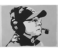 Tom Coughlin Portrait Photographic Print
