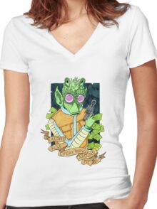 C.R.E.A.M. - Credits Rule Everything Around Me Women's Fitted V-Neck T-Shirt