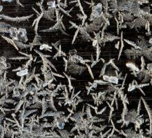 Ice crystals Sticker