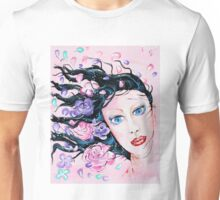 Spring Breeze - Woman Art by Valentina Miletic Unisex T-Shirt