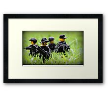 LEGO Navy SEALs Framed Print