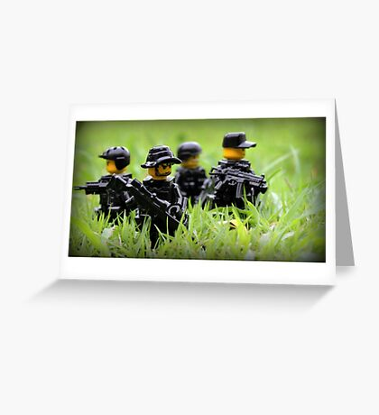 LEGO Navy SEALs Greeting Card