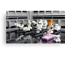 Stormtrooper Yoga Canvas Print