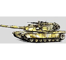 M1 Abrams Main Battle Tank Photographic Print