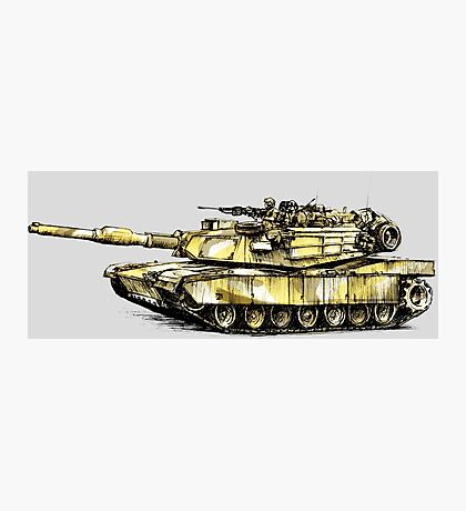 M1 Abrams Main Battle Tank Photographic Print