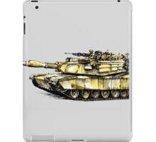 M1 Abrams Main Battle Tank iPad Case/Skin