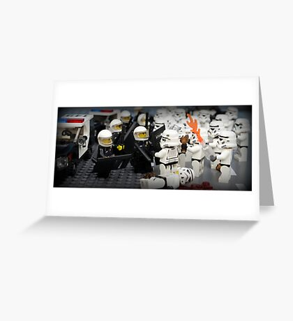 Stormtrooper Riots Greeting Card