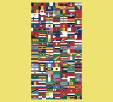 Flags of the World Kids Tee