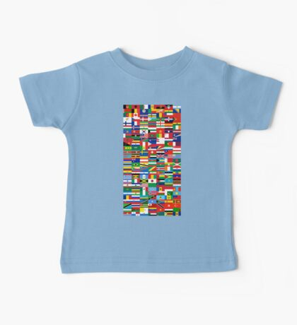 Flags of the World Baby Tee