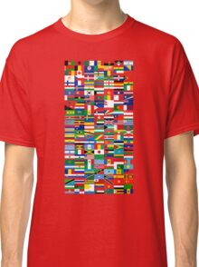 Flags of the World Classic T-Shirt