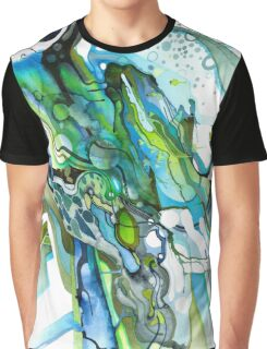 Approaching Eleven Percent From Behind  - Watercolor Painting Graphic T-Shirt
