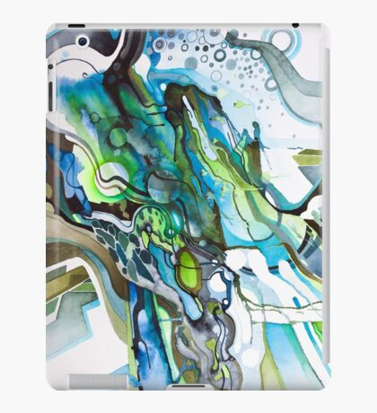 Approaching Eleven Percent From Behind  - Watercolor Painting iPad Case/Skin