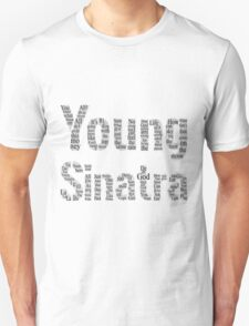 Young Sinatra Typography Black T-Shirt