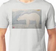 Polar Bear on Ice Unisex T-Shirt