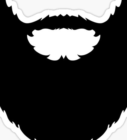 The Beard! Sticker