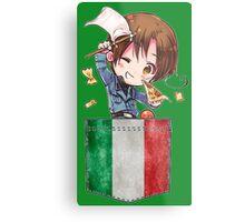 Italy Pocket Chibi Metal Print