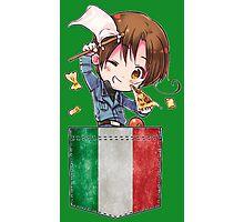 Italy Pocket Chibi Photographic Print