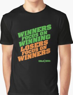 Conor McGregor - Quotes [Winners Tri] Graphic T-Shirt