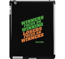 Conor McGregor - Quotes [Winners Tri] iPad Case/Skin