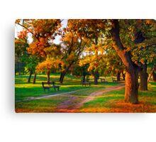 Park Forest Canvas Print
