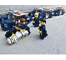San Jose Police arrest Stormtrooper Photographic Print