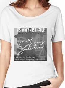 Young Sinatra With Old Blue Eyes Women's Relaxed Fit T-Shirt