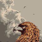 Eagle Eye In The Big Smoke by eggzoo