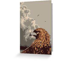 Eagle Eye In The Big Smoke Greeting Card