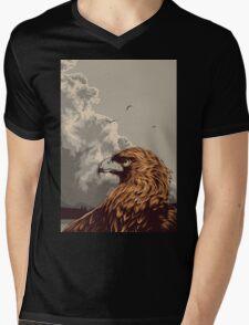 Eagle Eye In The Big Smoke Mens V-Neck T-Shirt